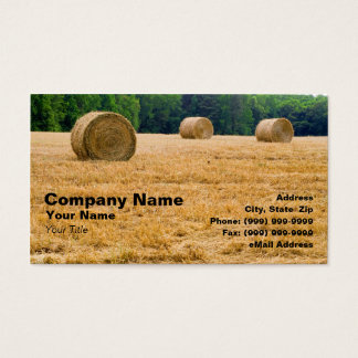 Bales of Hay Business Card