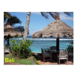 Bali Beach Scene Postcard