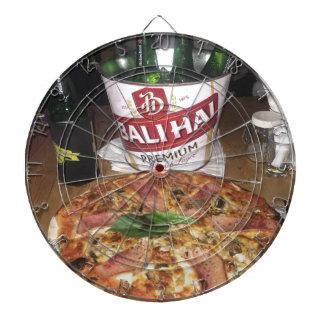 Bali beer and Pizza Dartboard