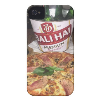 Bali beer and Pizza iPhone 4 Covers