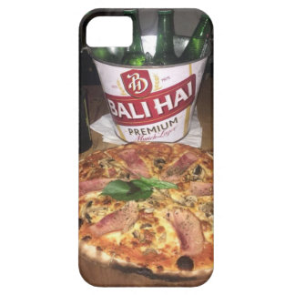 Bali beer and Pizza iPhone 5 Case