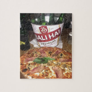 Bali beer and Pizza Jigsaw Puzzle
