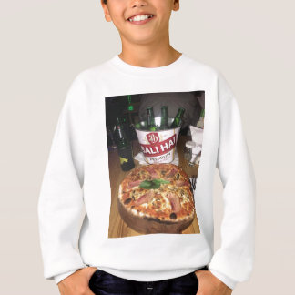 Bali beer and Pizza Sweatshirt