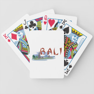 Bali Bicycle Playing Cards