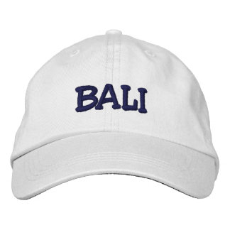 Bali Cap Embroidered Baseball Caps