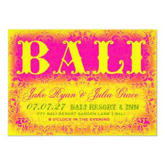 BALI Destination Invitation