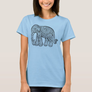"""BALI ELEPHANT"" Spaghetti Strap Tank For Women"