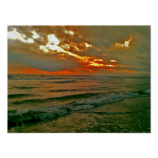 Bali Evening Sky Poster