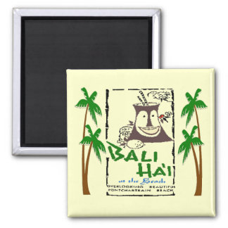 Bali Hai at Pontchartrain Beach New Orleans Magnet