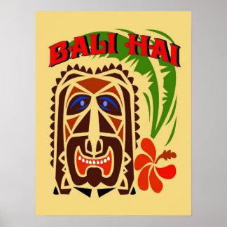 Bali Hai Tiki Club Poster
