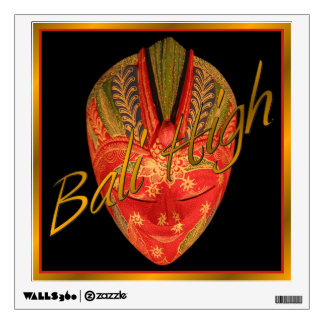 Bali High Wall Sticker
