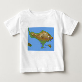 Bali Holliday Map Baby T-Shirt