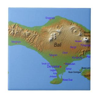Bali Holliday Map Tile