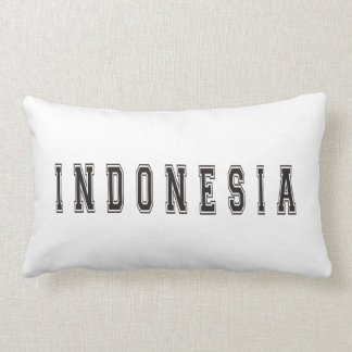 Bali Indonesia Lumbar Pillow