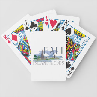 Bali Island Of Gods Bicycle Playing Cards