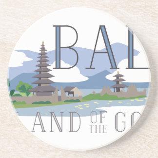 Bali Island Of Gods Drink Coaster