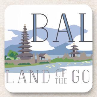 Bali Island Of Gods Drink Coasters