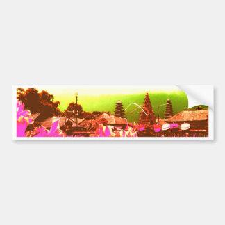 Bali Island Paradise Bumper Sticker
