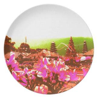 Bali Island Paradise Plate
