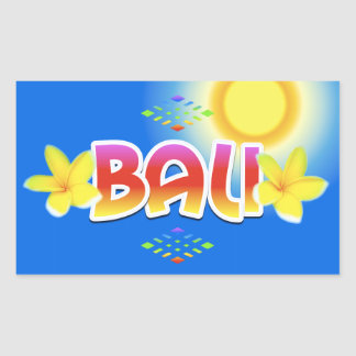 Bali Island Sticker
