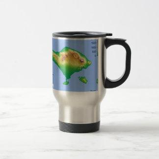 Bali Map Travel Mug