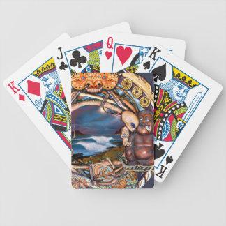 Bali Nights playing cards