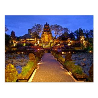 Bali post postcard