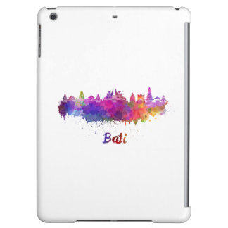 Bali skyline in watercolor iPad air cases