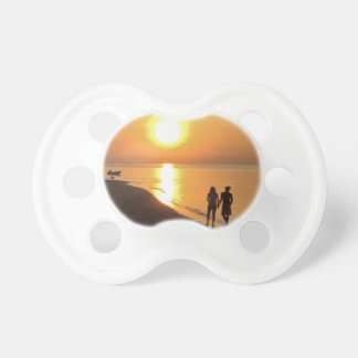 Bali sunrise on the beach pacifier