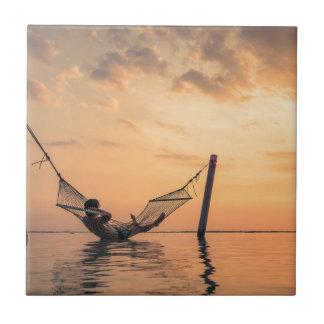 Bali Sunset Tile
