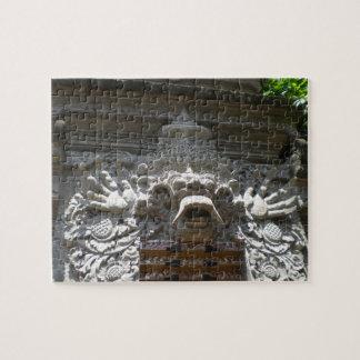 Bali Temple Decor Jigsaw Puzzle