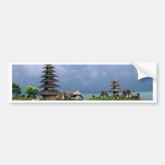 bali temple indonesia bumper sticker