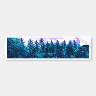 Bali Tropical Forest Bumper Sticker