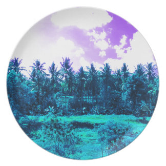 Bali Tropical Forest Plate