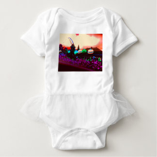 Bali Umbrella Colour Splash Baby Bodysuit