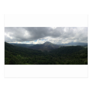 Bali Volcano Postcard