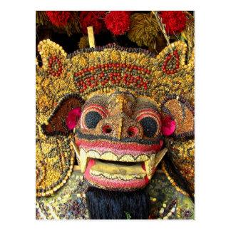 Balinese Barong 2 Postcard