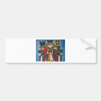 Balinese dancers bumper sticker