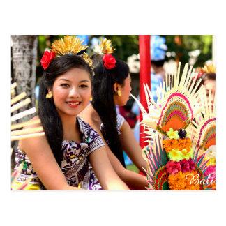 Balinese Girl Postcard