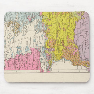 Balkan Peninsula  and Constantinople Map Mouse Pad