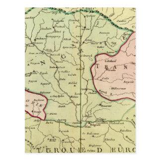 Balkan Peninsula, Hungary, Romania 2 Postcard