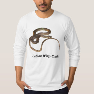 Balkan Whip Snake American Apparel Long Sleeve Shirt
