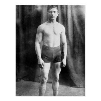 Balkan wrestler Yussif Hussane, 1915 Postcard
