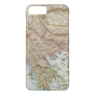 Balkanhalbinsel - Balkan Peninsula Map iPhone 7 Plus Case
