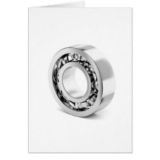 Ball bearing card