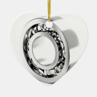 Ball bearing ceramic ornament