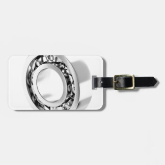 Ball bearing luggage tag