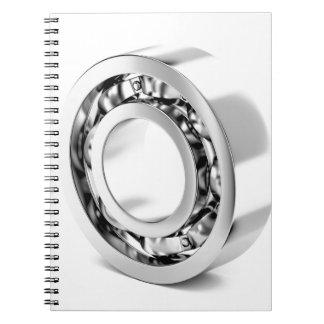 Ball bearing notebooks