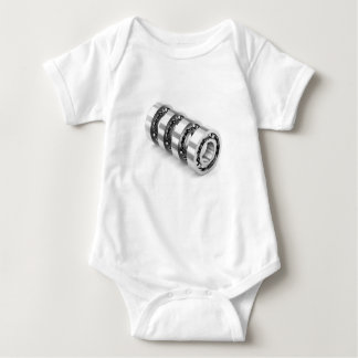 Ball bearings baby bodysuit