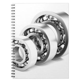 Ball bearings note books